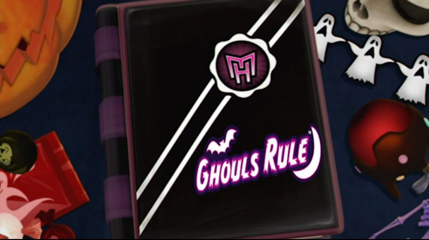 Monster High: Ghouls Rule! (2012) DVD Menu
