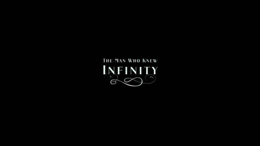 The Man Who Knew Infinity (2015) DVD Menu
