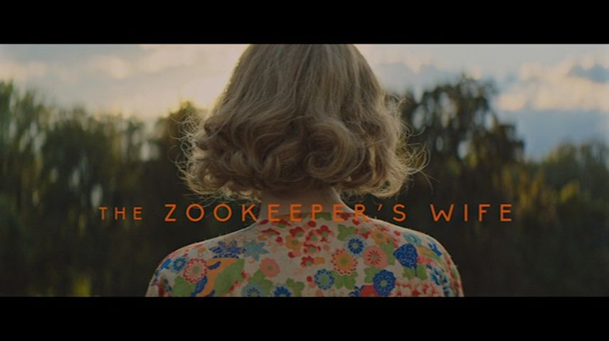 The Zookeeper's Wife (2017) DVD Menu