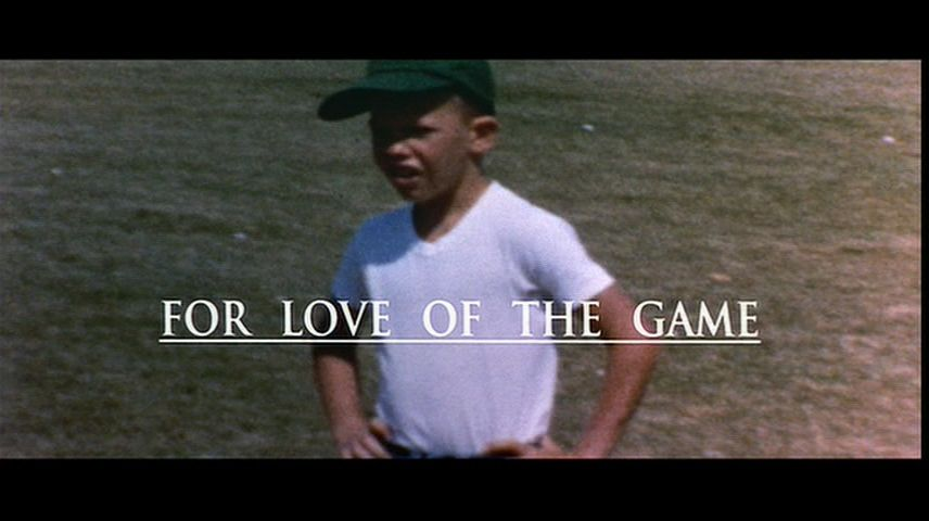 For Love of the Game (1999) DVD Menu