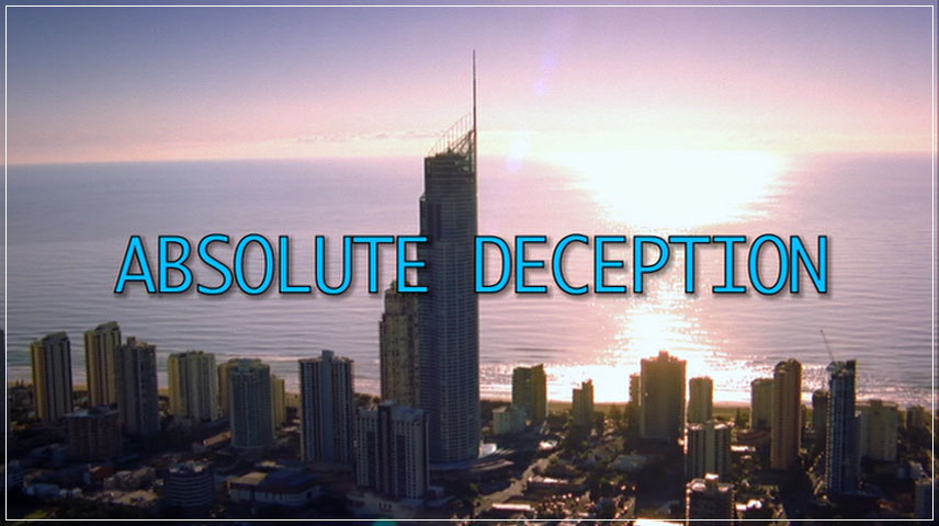 Absolute Deception (2013) DVD Menu