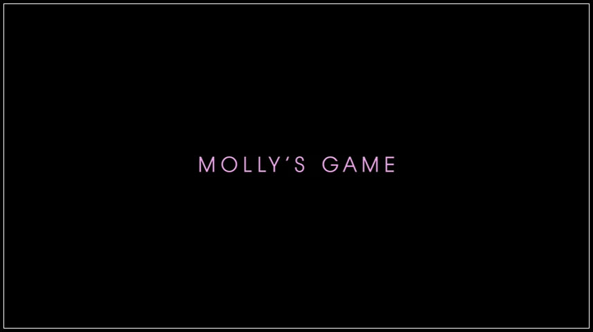 Molly's Game (2017) DVD Menu