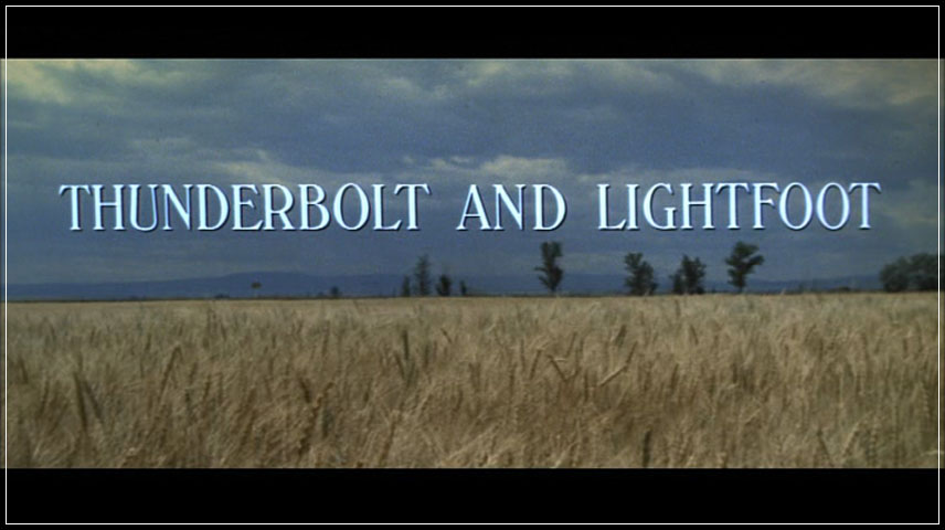 Thunderbolt and Lightfoot (1974) DVD Menu