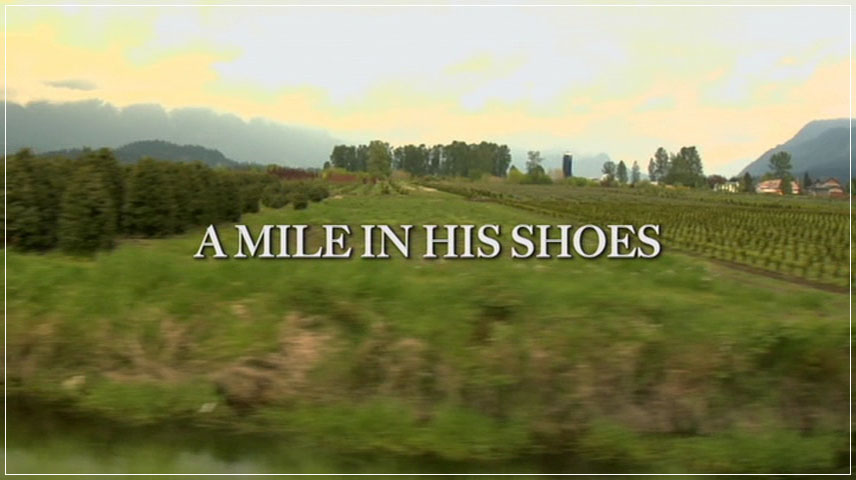 A Mile in His Shoes (2011) DVD Menu