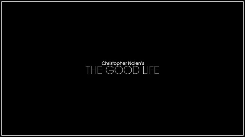The Good Life (2012) DVD Menu
