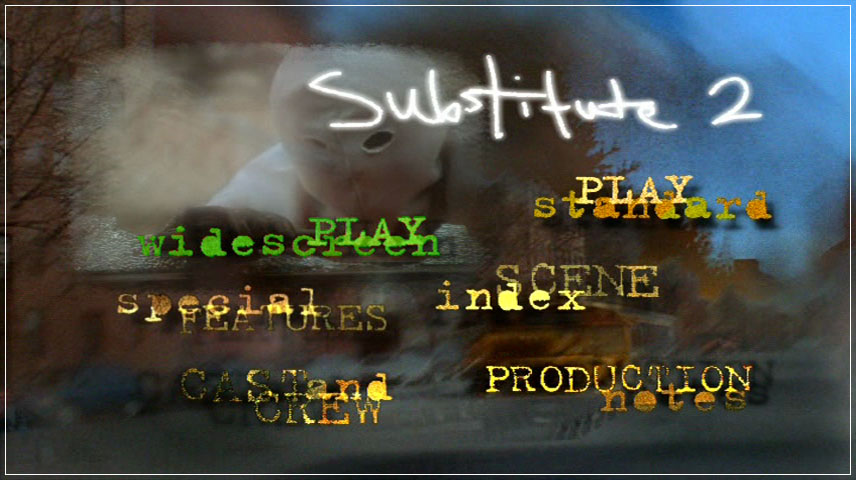 The Substitute 2: School's Out (1998) DVD Menu