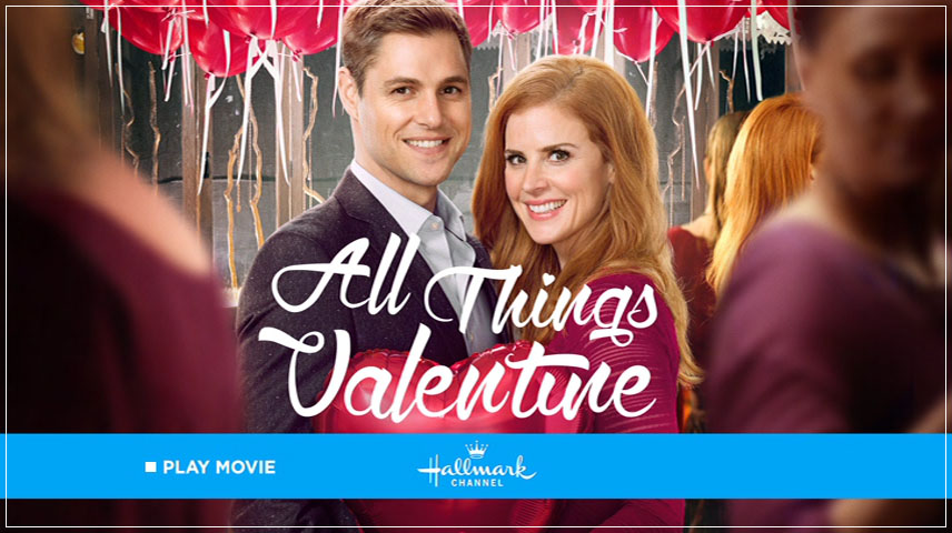 All Things Valentine (2016) DVD Menu