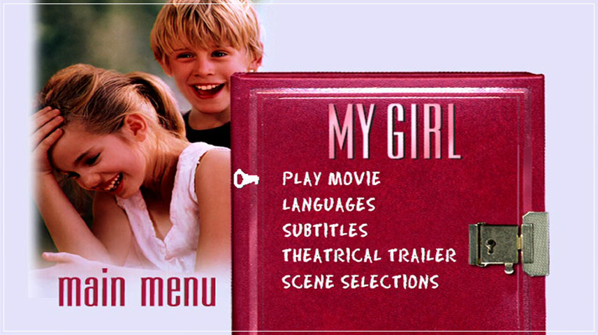 My Girl (1991) DVD Menu