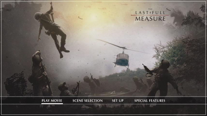 The Last Full Measure (2019) DVD Menu