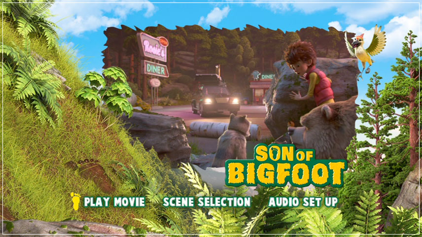 Son of Bigfoot (2017) DVD Menu