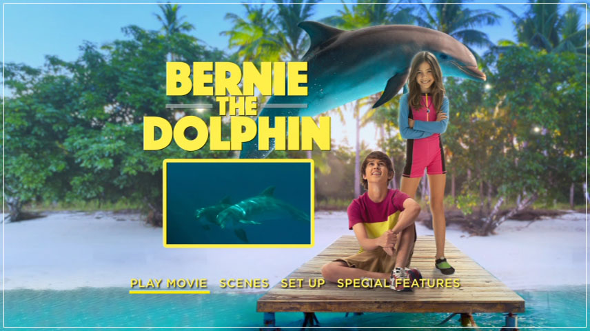 Bernie The Dolphin (2018) DVD Menu