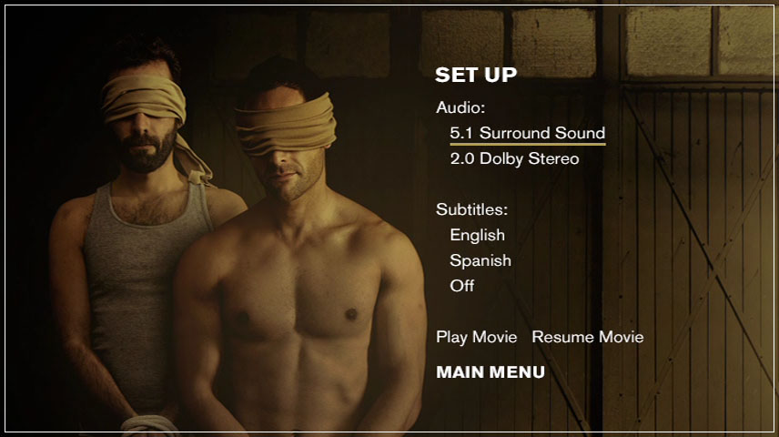 Kidnap Capital (2015) DVD Menu