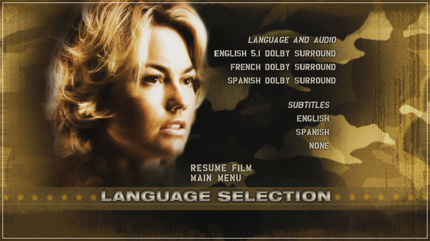 The Marine (2006) DVD Menu