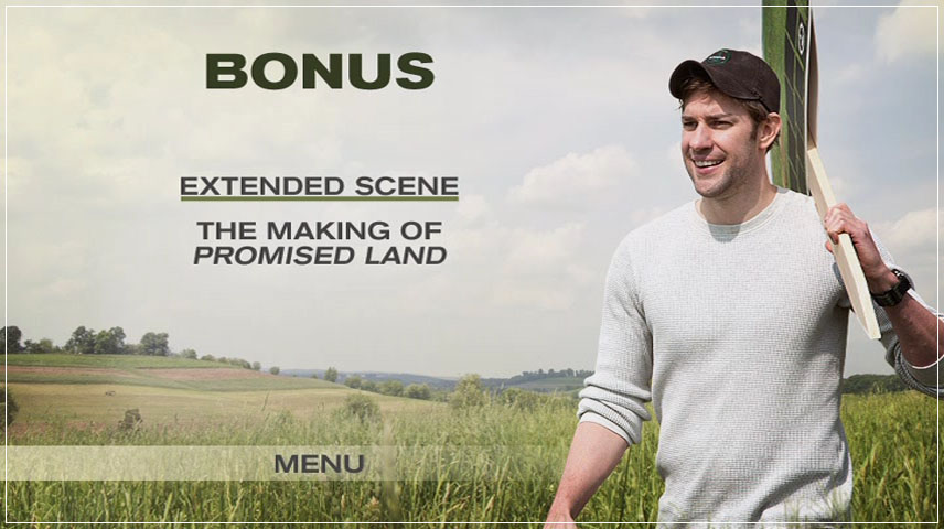 Promised Land (2012) DVD Menu