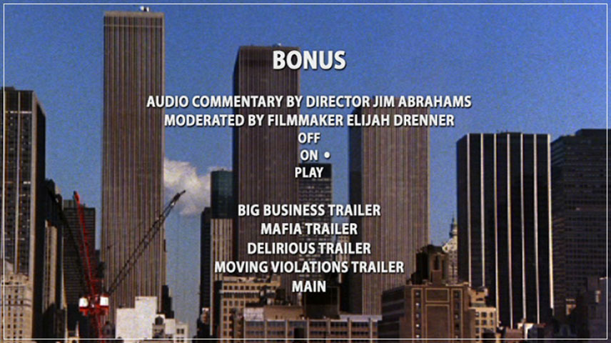 Big Business (1988) DVD Menu