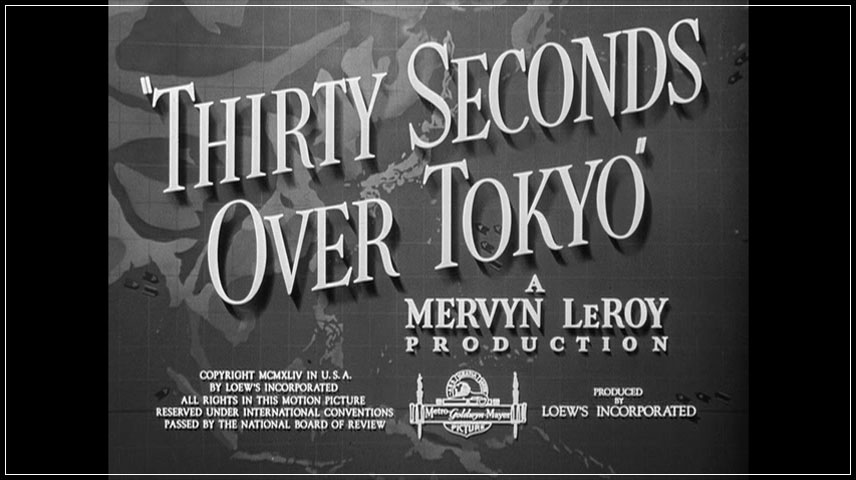 Thirty Seconds Over Tokyo (1944) DVD Menu