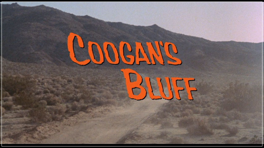 Coogan's Bluff (1968) DVD Menu