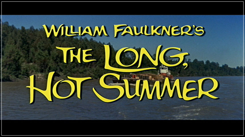 The Long, Hot Summer (1958) DVD Menu