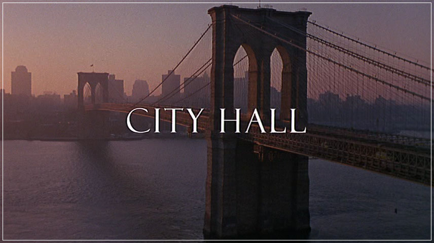 City Hall (1996) DVD Menu