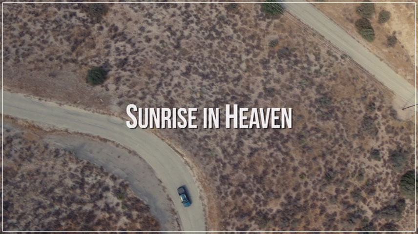 Sunrise in Heaven (2019) DVD Menu