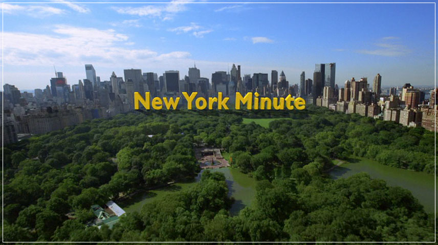 New York Minute (2004) DVD Menu
