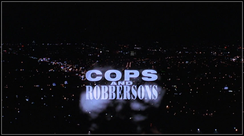 Cops and Robbersons (1994) DVD Menu