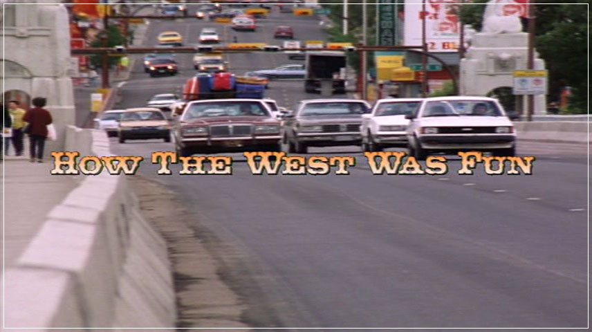 How the West Was Fun (1994) DVD Menu