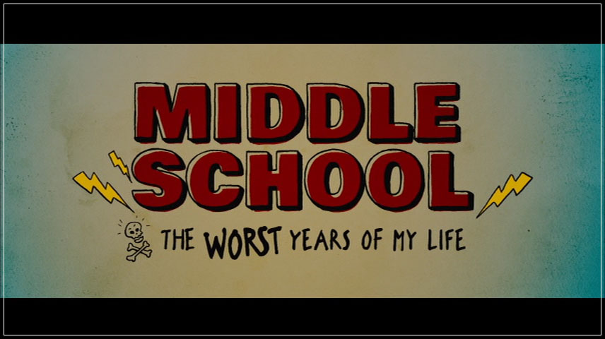 Middle School: The Worst Years of My Life (2016) DVD Menu