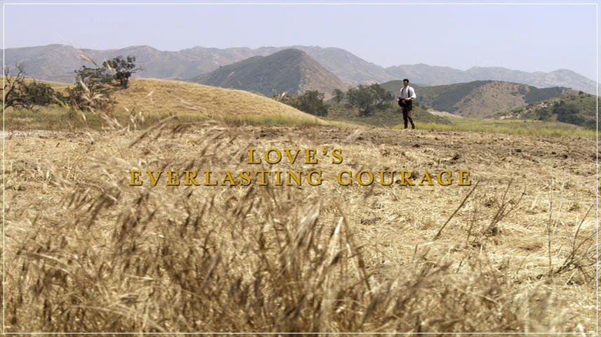 Love's Everlasting Courage (2011) DVD Menu
