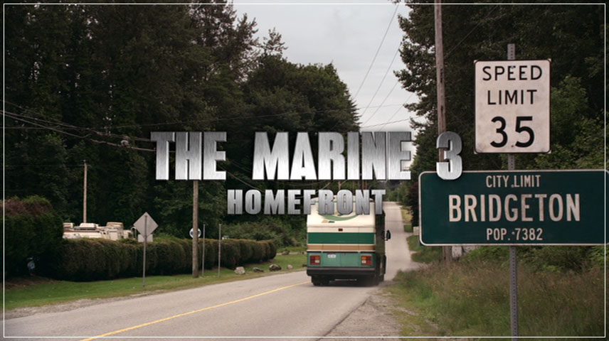 The Marine 3: Homefront (2013) DVD Menu