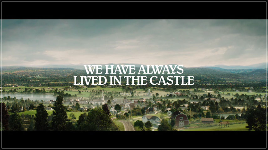 We Have Always Lived in the Castle (2018) DVD Menu